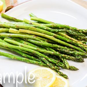 EXCLUSIVE Air Fryer Asparagus with VIDEO