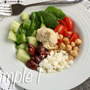 Loaded Greek Hummus Bowl