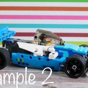 LEGO Pull Back Indy Car