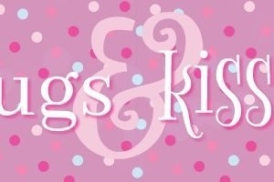Hugs and Kisses Valentine's Day Gift Topper