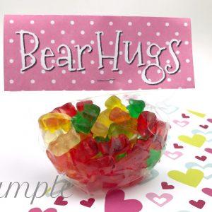 Bear Hugs Valentine Topper