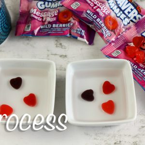 Growing Gummy Hearts