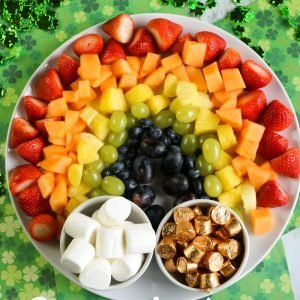 St Patrick's Day Fruit Platter