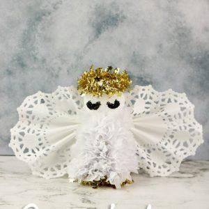 Angel Cardboard Cone