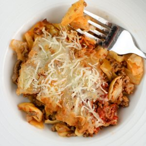 Low Carb Cabbage Roll Casserole
