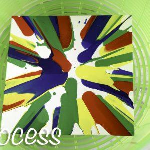 Salad Spinner Art