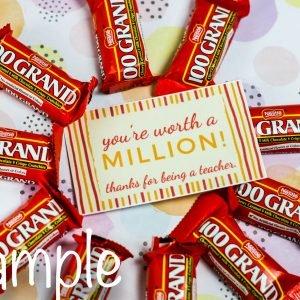 1000 Grand Teacher's Appreciation Gift