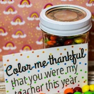 Skittles Teacher's Appreciation Gift