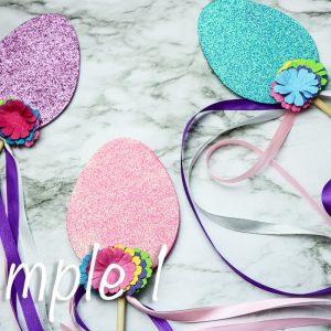 Easter Egg Ribbon Wand