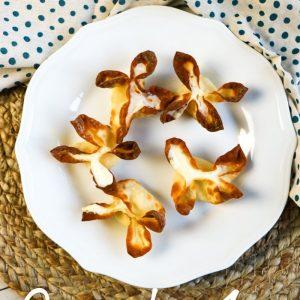 Air Fryer Cream Cheese Wontons
