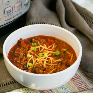 Instant Pot Chili with Canned Beans