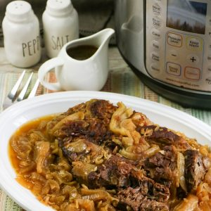 Instant Pot or Slow Cooker French Onion Beef Roast