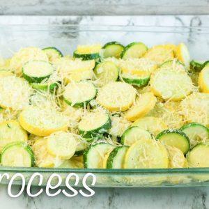 Low Carb Summer Squash Zucchini Casserole