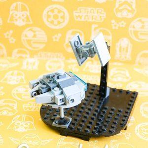 LEGO Millennium Falcon Tie Fighter Scene