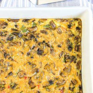 Vegetable Breakfast Casserole