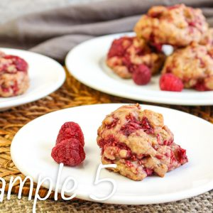 Whole Wheat Raspberry Scones