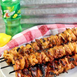 Filipino Barbecue Chicken Skewers