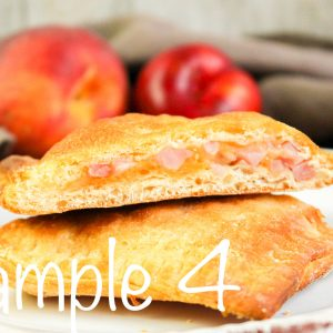 Air Fryer Crescent Ham and Cheese Pockets