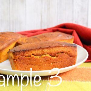 Air Fryer Pumpkin Bread