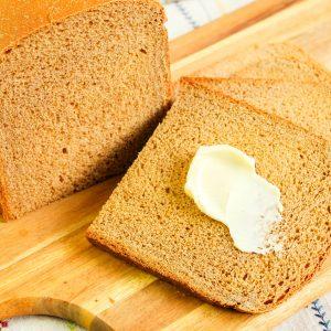 Bread Machine Honey Molasses Bread
