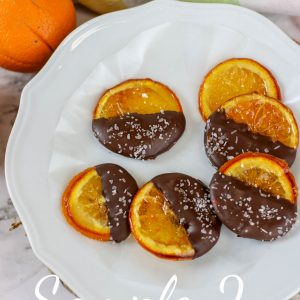 Dark Chocolate Dipped Candy Oranges