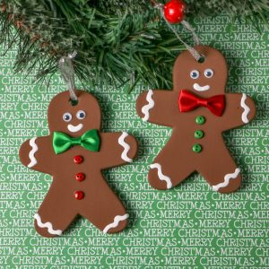 Ceramic Gingerbread Ornament