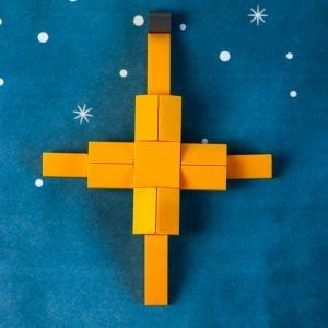 Lego Christmas Star Ornament