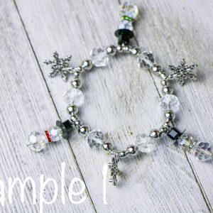 Snowman Charm Bracelet