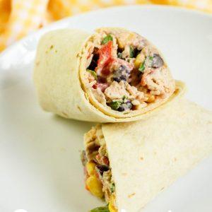 Southwestern Chicken Wraps