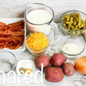 Bacon and Potato Pot Pie