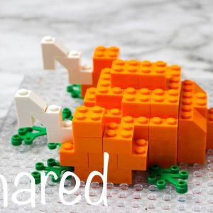 LEGO Turkey Dinner