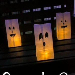 Spooky Paper Luminaries