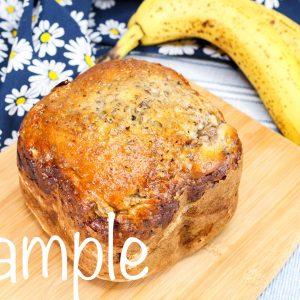 Bread Machine Banana Bread