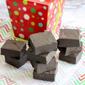 Christmas Coal Fudge